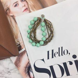31 Bits Turquoise Inspirer Bracelet in Mint